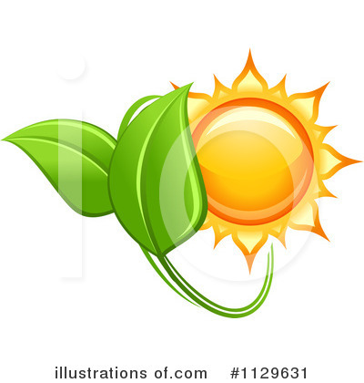 Royalty-Free (RF) Solar Energy Clipart Illustration by Vector Tradition SM - Stock Sample #1129631