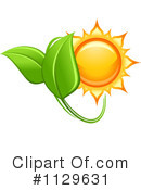 Royalty-Free (RF) Solar Energy Clipart Illustration #1129631