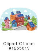 Royalty-Free (RF) Solar Energy Clipart Illustration #1255819