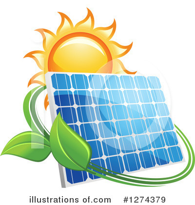 Solar Energy Clipart #1274379 by Vector Tradition SM