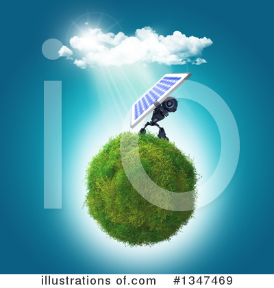 Solar Panel Clipart #1347469 by KJ Pargeter
