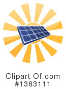 Royalty-Free (RF) Solar Energy Clipart Illustration #1383111