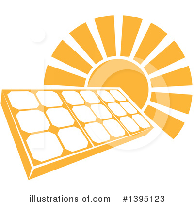 Solar Panel Clipart #1395123 by AtStockIllustration