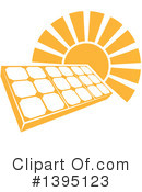 Royalty-Free (RF) Solar Energy Clipart Illustration #1395123
