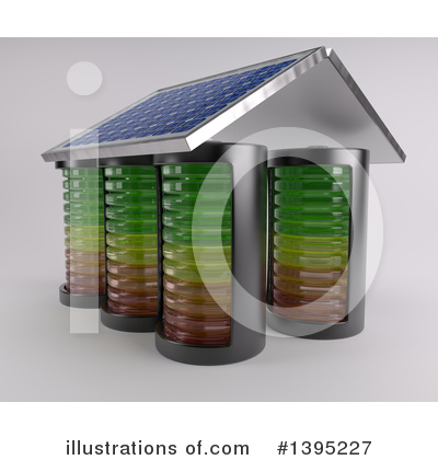 Solar Panel Clipart #1395227 by KJ Pargeter