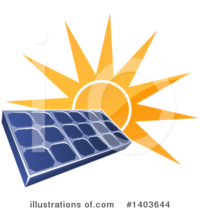 Solar Panel Clipart #1403644 by AtStockIllustration