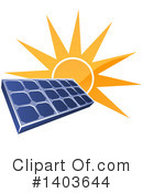Royalty-Free (RF) Solar Energy Clipart Illustration #1403644