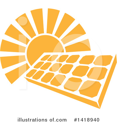 Solar Clipart #1418940 by AtStockIllustration