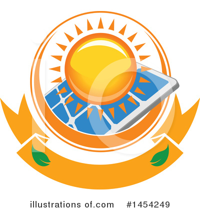 Solar Energy Clipart #1454249 by Vector Tradition SM