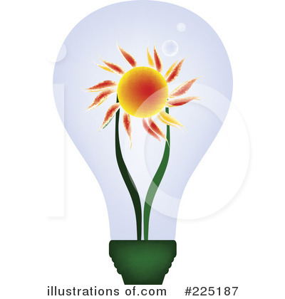Solar Energy Clipart #225187 - Illustration by JR