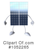 Royalty-Free (RF) Solar Panel Clipart Illustration #1052265