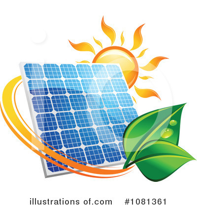 Solar Energy Clipart #1081361 by Vector Tradition SM