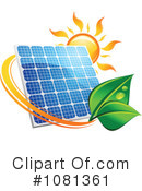 Solar Panel Clipart #1081361 by Vector Tradition SM