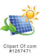 Solar Panel Clipart #1267471 by Vector Tradition SM