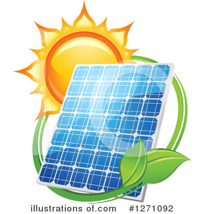 Solar Energy Clipart #1271092 by Vector Tradition SM
