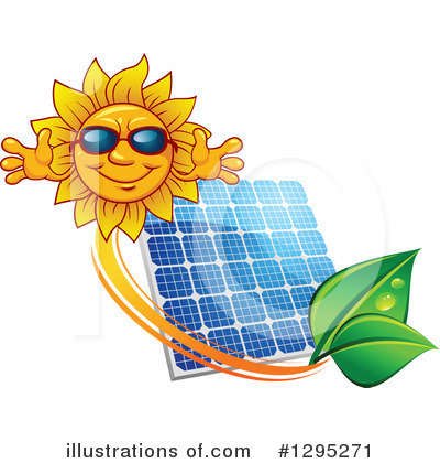 Solar Panel Clipart #1295271 by Vector Tradition SM