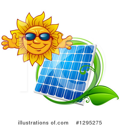 Solar Panel Clipart #1295275 by Vector Tradition SM