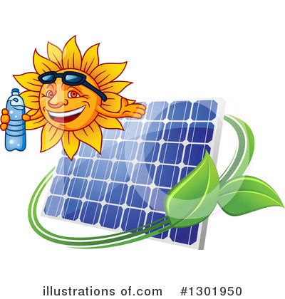 Solar Panel Clipart #1301950 by Vector Tradition SM