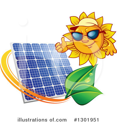 Solar Panel Clipart #1301951 by Vector Tradition SM
