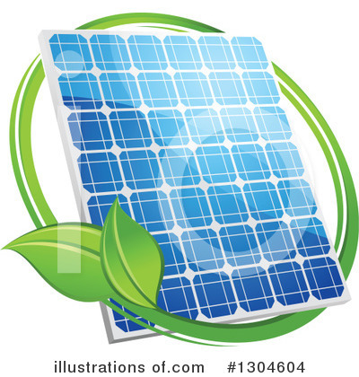 Solar Energy Clipart #1304604 by Vector Tradition SM