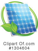 Solar Panel Clipart #1304604 by Vector Tradition SM