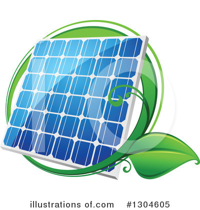 Solar Energy Clipart #1304605 by Vector Tradition SM