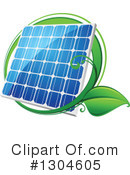 Solar Panel Clipart #1304605 by Vector Tradition SM