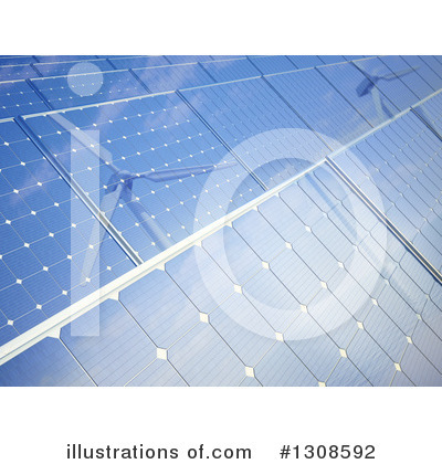 Solar Panel Clipart #1308592 by Mopic