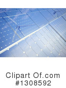 Royalty-Free (RF) Solar Panel Clipart Illustration #1308592