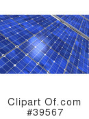 Royalty-Free (RF) Solar Panel Clipart Illustration #39567