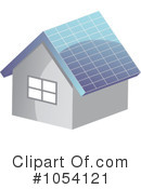 Royalty-Free (RF) Solar Power Clipart Illustration #1054121
