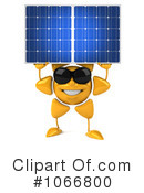 Royalty-Free (RF) Solar Power Clipart Illustration #1066800