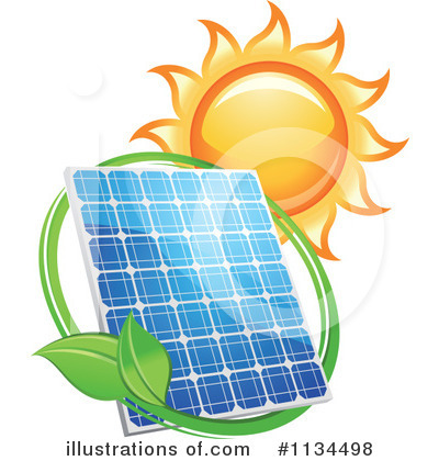 Solar Energy Clipart #1134498 by Vector Tradition SM