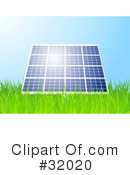 Royalty-Free (RF) Solar Power Clipart Illustration #32020