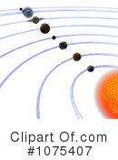 Royalty-Free (RF) Solar System Clipart Illustration #1075407
