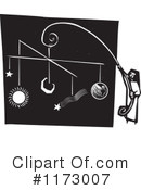 Royalty-Free (RF) Solar System Clipart Illustration #1173007