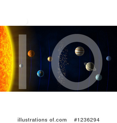 Solar System Clipart #1236294 by Mopic