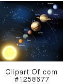 Solar System Clipart #1258677 by AtStockIllustration