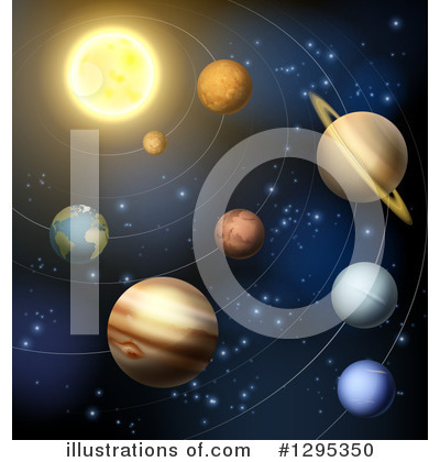 Royalty-Free (RF) Solar System Clipart Illustration by AtStockIllustration - Stock Sample #1295350