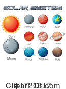 Solar System Clipart #1721817 by Graphics RF