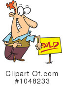 Sold Clipart #1048233 by toonaday