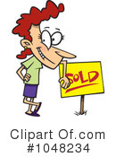 Sold Clipart #1048234 by toonaday