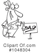 Sold Clipart #1048304 by toonaday