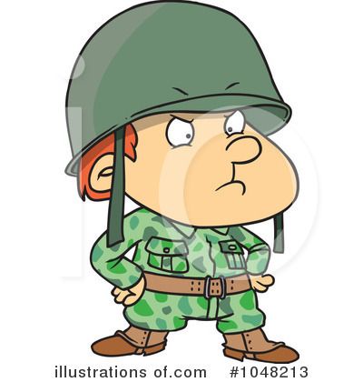 Soldier Clipart #1048213 by toonaday