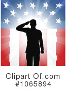 Royalty-Free (RF) Soldier Clipart Illustration #1065894