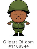 Royalty-Free (RF) Soldier Clipart Illustration #1108344