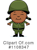 Royalty-Free (RF) Soldier Clipart Illustration #1108347