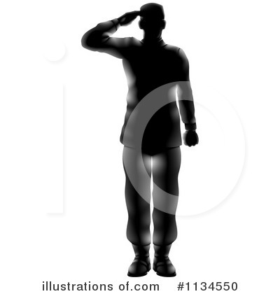 Soldier Clipart #1134550 by AtStockIllustration