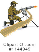 Royalty-Free (RF) Soldier Clipart Illustration #1144949