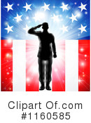 Royalty-Free (RF) Soldier Clipart Illustration #1160585